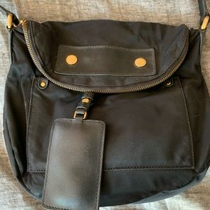 Marc Jacobs black nylon crossbody